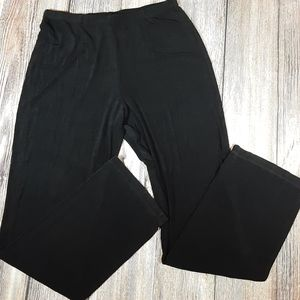 Chicos Travelers 2 tall black pants
